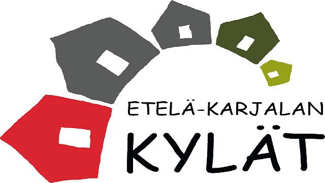 Etelä-Karjalan kylät ry:n logo.